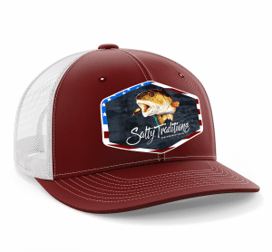 American Redfish Hat (Cardinal Red)