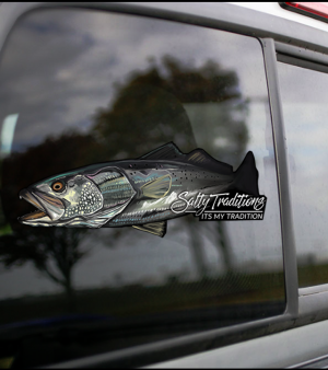 Speckled Trout Decal (Medium Decal)